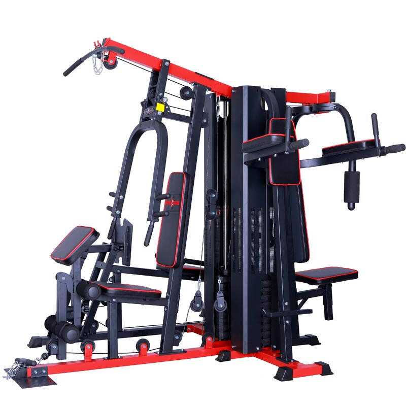 Five-people-standing integrated training machine